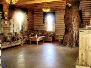 Снять  коттедж  с баней на дровах на 25 человек