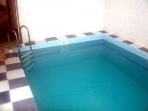 Сдаю в аренду коттедж на выходные для  20 чел. с сауной и бассейном.
