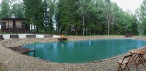 Снять коттедж на сутки рядом с озером для 10 человек, 75 км МКАД.