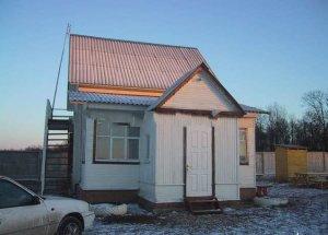 Аренда деревенского дома на сутки для