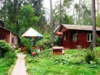 Сдается лесной домик шале  на сутки.