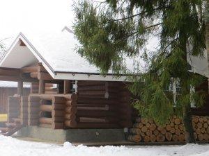 Снять дом в лесной глуши  на берегу