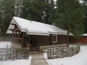 Снять дом в лесной глуши  на берегу Волги в 120 км МКАД