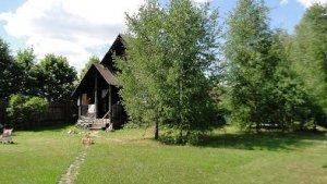 Сдается дом в лесу на берегу реки