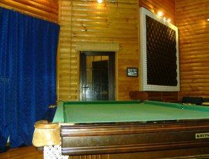 Снять особняк с каминным залом, бильярдом, теннисом и сауной