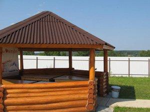 Аренда домов на сутки и выходные для 18 человек на берегу Оки